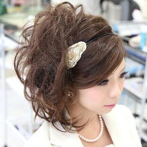 ウエディング、ドレスや着物に似合うヘアスタイル・髪型特集-ロングヘア編-