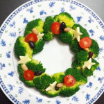 【クリスマス/サラダ/手作り料理、レシピ】人気レシピは、リースサラダとツリー・サラダ!「簡単!おしゃれで可愛いクリスマス・サラダの人気メニューを紹介」