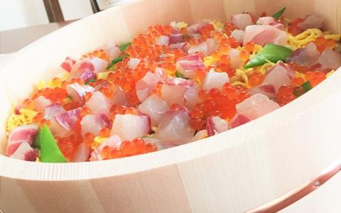 クリスマスのケーキ寿司、ちらし寿司のレシピ特集