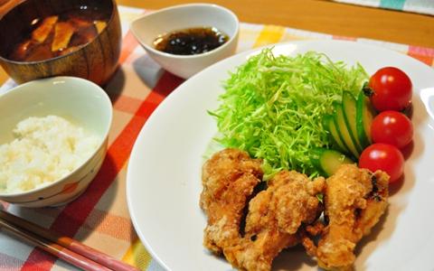 唐揚げ定食の最強レシピ!付け合せのメニュー・ランキング