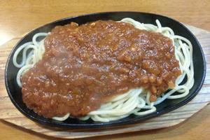 鉄板スパゲティ