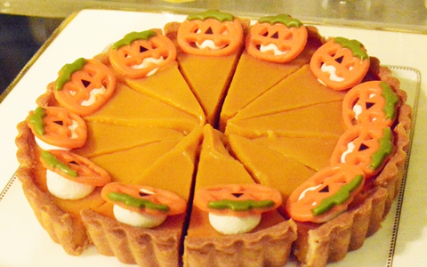 ハロウィンの手作りデザート、子供の簡単おやつレシピ!