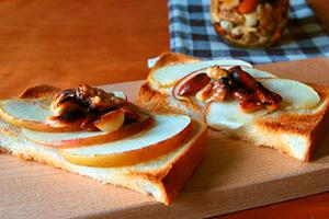 アップルナッツトースト