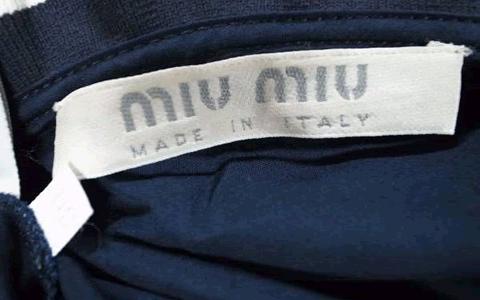 ミュウミュウのレディース・ファッション、日本人女性のサイズ表