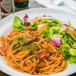 [ナポリタンの付け合わせ、おかず&献立] ナポリタンに合う料理&おかず、献立レシピ!人気・定番・簡単な副菜特集「パスタの基本は、スープとサラダ!?ナポリタンで満腹になるもう1品を解説」
