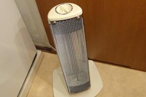 小型のヒーター