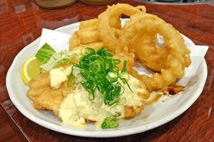 チキン南蛮に合う料理、イカリングとポテト