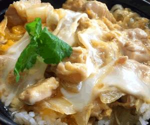 親子丼と卵料理