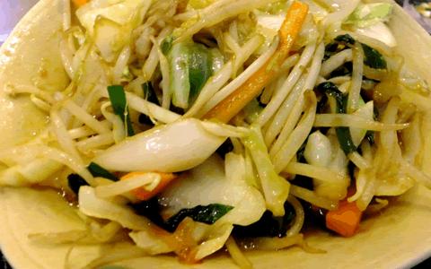 野菜炒めの付け合わせ、野菜炒めに合う料理
