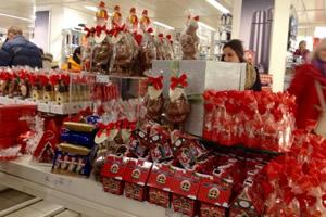 クリスマス用のお菓子