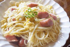 ウインナーのスパゲティ