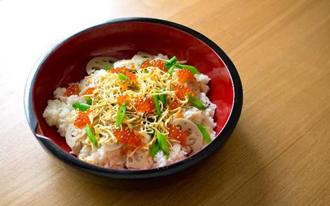 【ちらし寿司/具/ランキング】ちらし寿司の好きな具材ベスト・ランキング「人気・定番・簡単!ちらし寿司の具の1番好きな具は、錦糸卵!?2位、イクラ、3位は、海老が上位にランクイン」