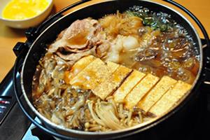 すき焼きの焼き豆腐、豆腐