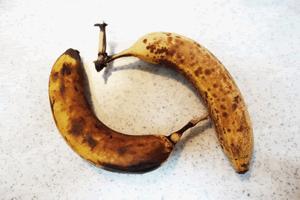 異臭がしたり、汁がでているバナナ
