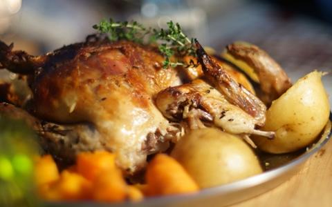 【ローストチキン/付け合わせ/献立】定番・人気・簡単レシピ!ローストチキンに合う料理&和食のおかず、美味しくなる副菜レシピ「ローストチキンの献立に、もう1品!何を付け加える?ローストチキンと夕飯の献立・副菜」