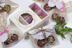 丸や四角のチョコレート