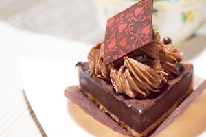 バレンタインとチョコレートケーキ