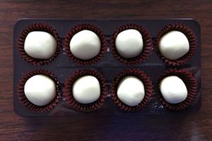 バレンタインのホワイトチョコ