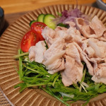 [豚肉の冷しゃぶ/付け合わせ、おかず&献立]人気・定番・簡単!豚肉の冷しゃぶに合う料理とレシピ、おかずの副菜特集