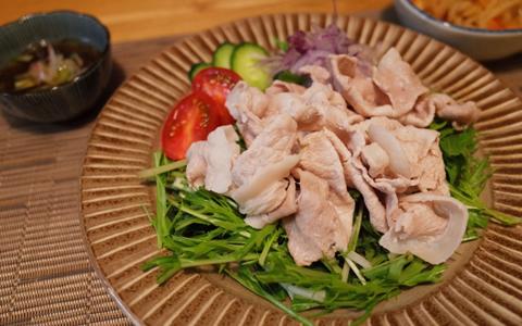豚肉の冷しゃぶの献立と付け合わせ、冷しゃぶに合う料理&おかず
