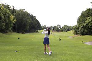 ゴルフと女性