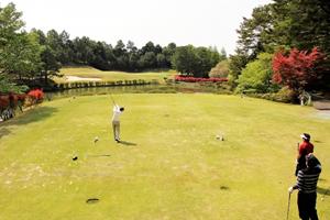 ゴルフと男性