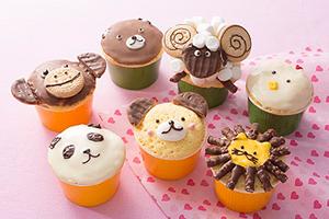 カップケーキの大量生産