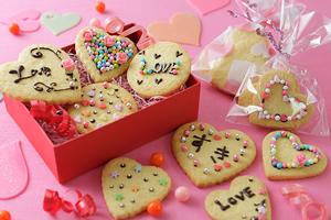 デコ・クッキーの大量生産