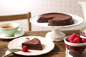バレンタインと手作りチョコレートケーキ
