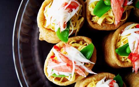 [いなり寿司の付け合わせ、おかず&献立] いなり寿司に、もう1品!おすすめ!定番・人気・簡単レシピ!いなり寿司に合う料理&おかず!いなり寿司に、もう1品!何を付け加える?いなり寿司と夕飯の献立・副菜」