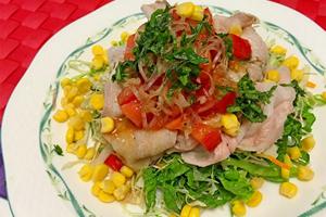 冷しゃぶサラダの献立と付け合わせ、冷しゃぶサラダに合う料理&おかず