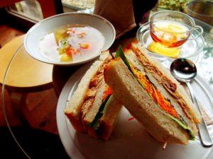 サンドイッチのスープ