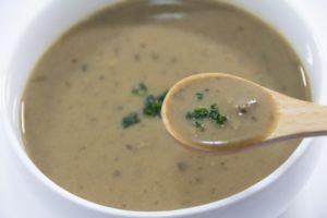 マッシュルームスープの献立