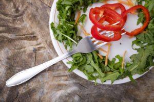 パプリカのグリーンサラダ