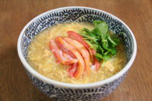 かにかまの卵スープ