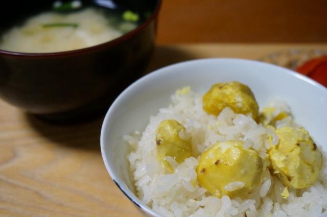 【栗ご飯の汁物&スープ/栗ご飯が合うお味噌汁&献立、付け合わせ】定番・人気・簡単!栗ご飯に合うおすすめ!みそ汁、お吸い物の特集