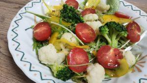 カリフラワー&トマトの野菜サラダ