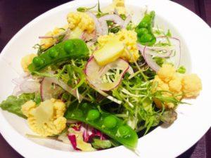 枝豆カリフラワーのサラダ