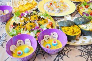 ハロウィンと子供のご飯レシピ、料理