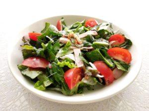ほうれん草のトマトサラダ