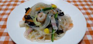 キクラゲの中華サラダ