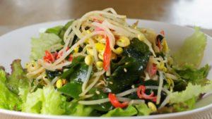 豆もやしの中華サラダ
