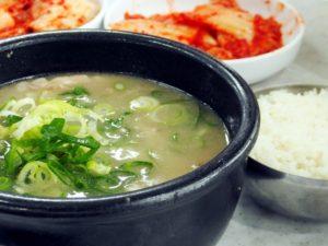 ソルロンタン(牛肉スープ)