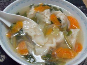 スープ餃子(水餃子)