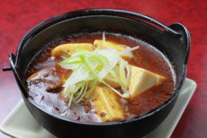 スープ風のマーボ豆腐