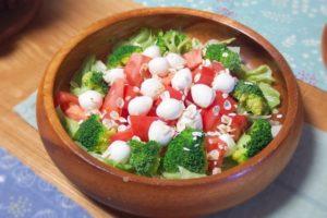 ブロッコリーの綺麗なサラダ