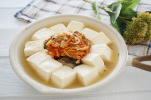 冬の豆腐料理