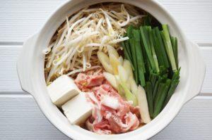 木綿豆腐と鍋料理