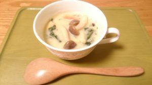 きのこクリームスープ