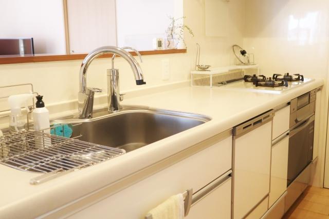 キッチンとシンク周りの掃除